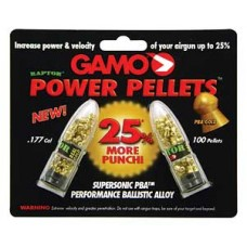 Piombini cal. 4,5 piombino Raptor Gamo power pellets PBA gold placcati in oro 18 Kt