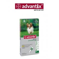 Bayer Advantix Spot On per cani fino a 4 kg.